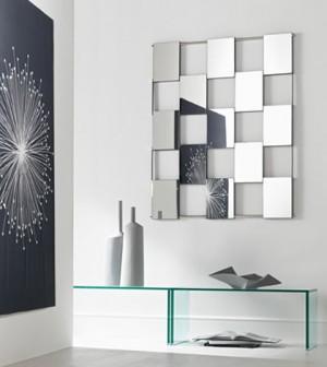 Ogledala staklo enterijer kupatila kuhinje opremanje enterijera for Idee deco spiegel